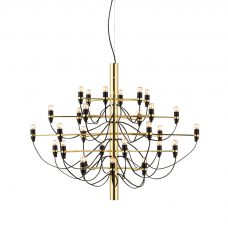 Flos 2097 30 Pendent Light Brass Clear