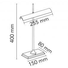 Flos Goldman Table Lamp Line Drawing