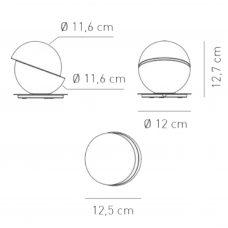 Axolight Aibu Table Lamp Line Drawing