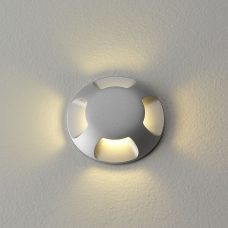 Astro Beam Four Led In Ground Light Silver