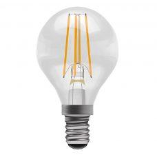 100 Light Uk 4w Golfball Clear Led Lamp Ses