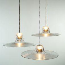Jonathan Coles Isolator Pendant Light Clear B
