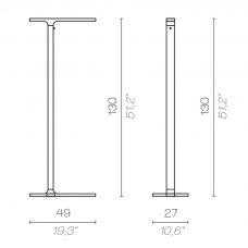 Contardi Beam Floor Lamp Line Drawing