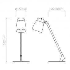 Astro Lighting Atelier Desk Lamp Line Drawing
