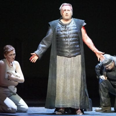 Simon O'Neill as the title role in Parsifal at the Vienna State Opera