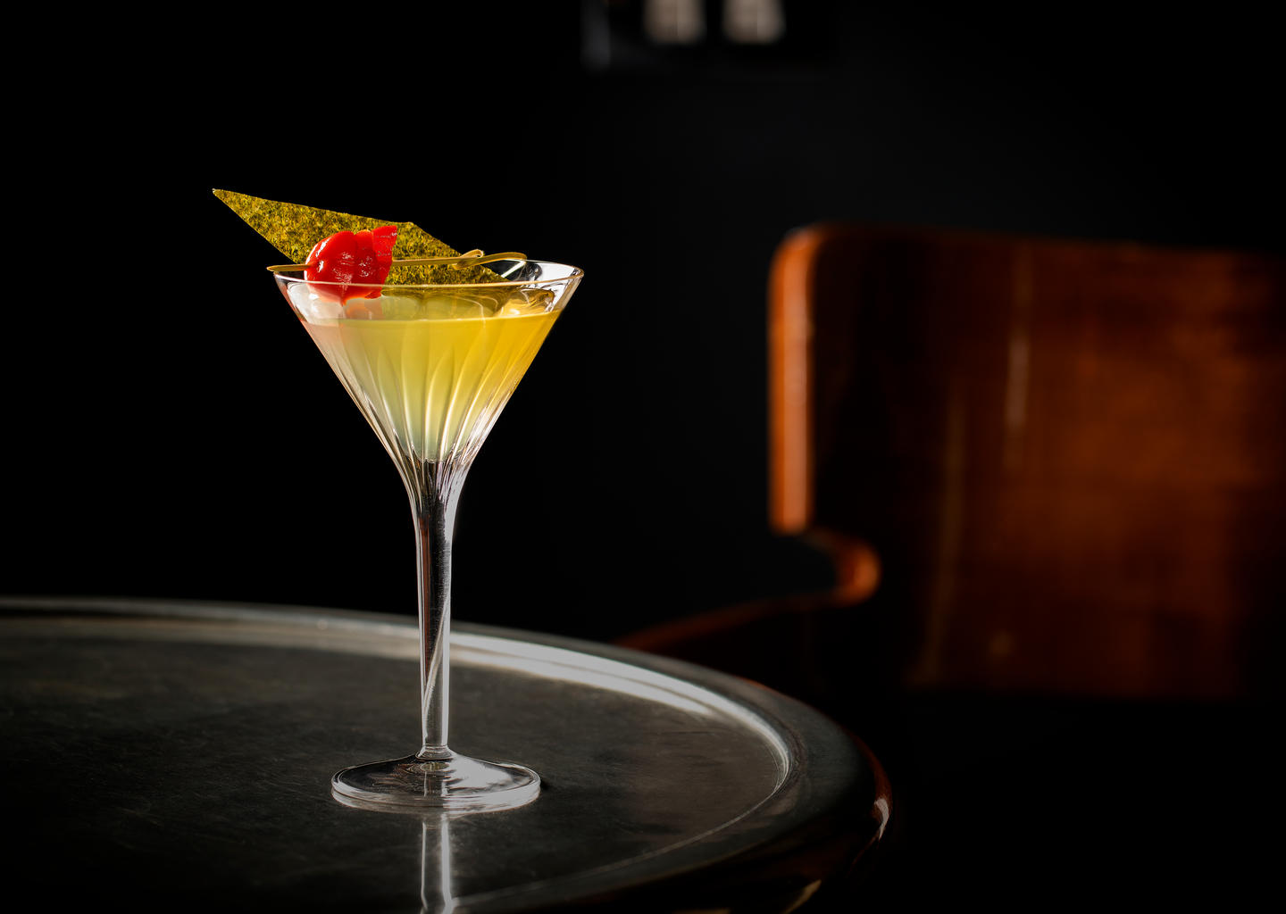 The Coastal Martini at Anthracite London's Best Martini