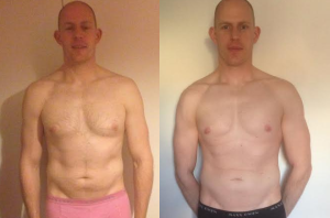 fat-loss, Harrow personal trainer, helped my client