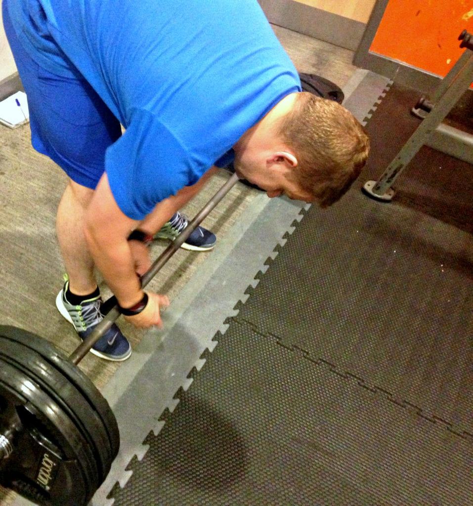 colin, deadlift, weights, fat loss