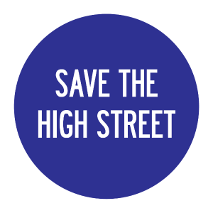save the high street logo