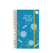 2017/2018 Pocket Life Book Diary