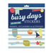 Busy Days Stickers: Occasions & Activities