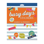 Busy Days Stickers: Friends & Family
