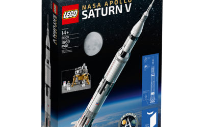 LEGO Ideas: NASA Apollo Saturn V is BIG
