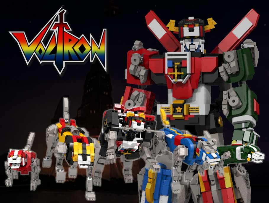 Voltron Lego Ideas