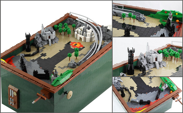 LEGO Lord of the Rings pinball table – where do I sign up?!