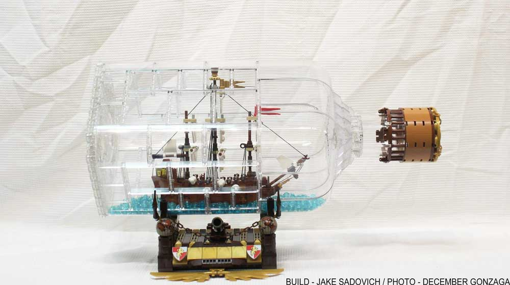 LEGO Ideas ship in bottle original