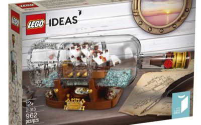 LEGO Ideas 21313 – Ship in a Bottle Released! Review