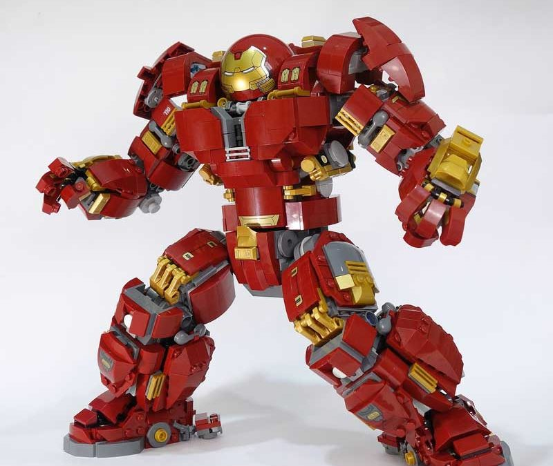 Lego Hulkbuster Ultron Edition Mod Amazing Bricks Blog