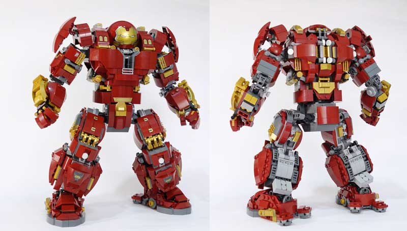 Ironaman Hulkbuster Front and Back
