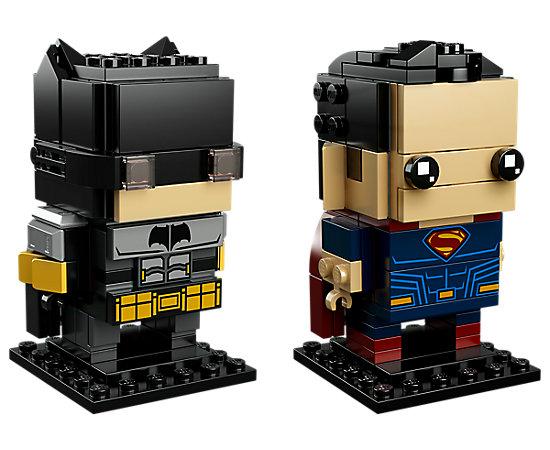 LEGO BrickHeadz - Tactical Batman & Superman
