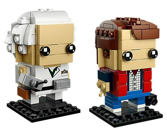 LEGO BrickHeadz - Marty McFly and Dr. Emmett Brown
