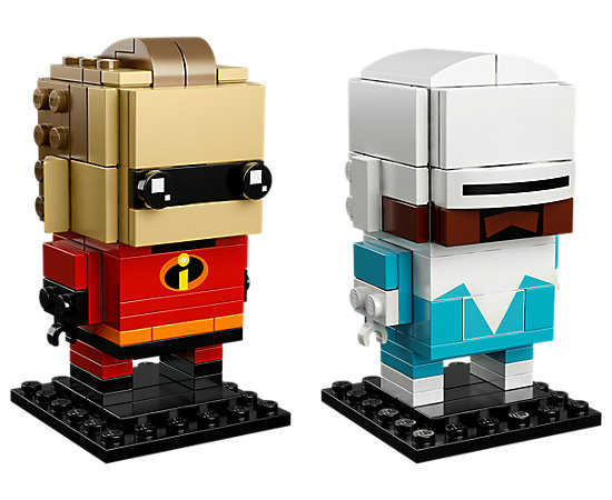 LEGO BrickHeadz - Mr. Incredible & Frozone