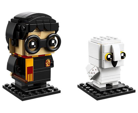 Harry Potter and Hedwig BrickHeadz