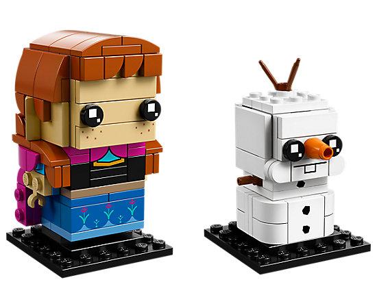 BrickHeadz Disney's Frozen - Anna and Olaf 41618
