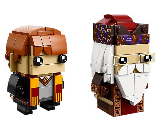 Ron Weasley & Albus Dumbledore BrickHeadz