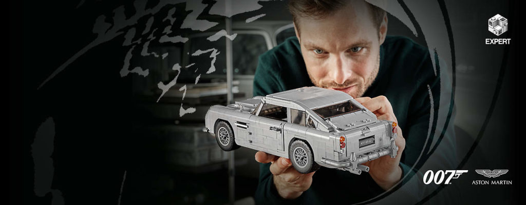 LEGO Aston Martin DB5 James Bond 007 edition