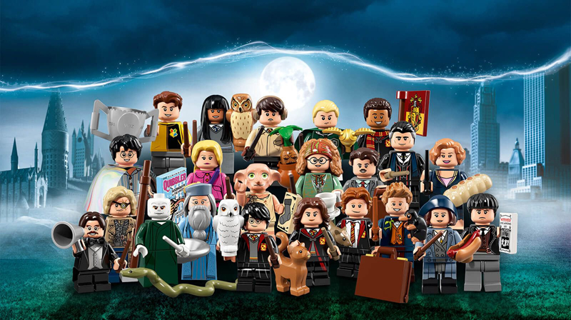 LEGO Wizarding World Harry Potter Minifigures Box Distribution