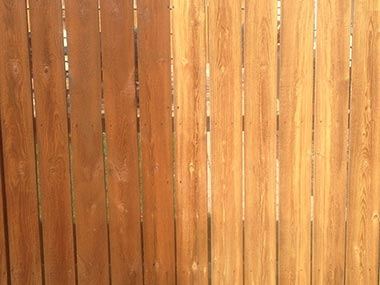 Fencing Pressure Washing