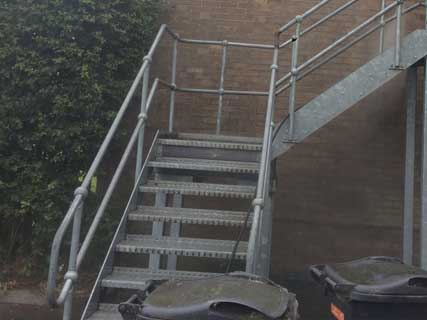 Call Bucks Pressure Washing On 01296 661558 For More To Find Out How We Can  Clean Stairwells And Fire Escape Staircases A One Off Clean Or As Part Of  An ...