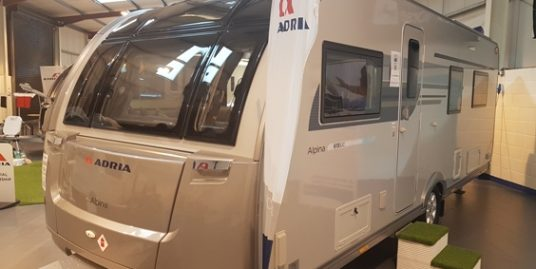 2018 *NEW* ADRIA ALPINA MISSOURI 613 UL 4-BERTH FIXED TRANSVERSE BED