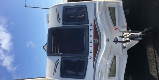 2013 BAILEY UNICORN CADIZ 4 BERTH TOURING CARAVAN WITH MOTOR MOVER
