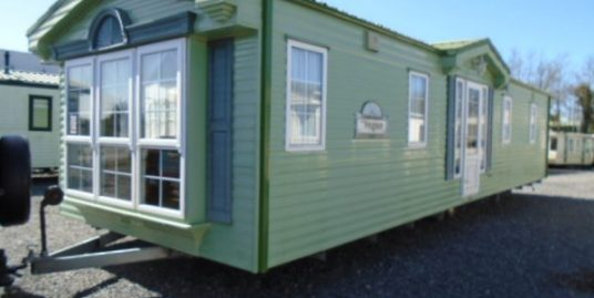 38×12 willerby vogue 2 bedroom / double glazed, gas heating