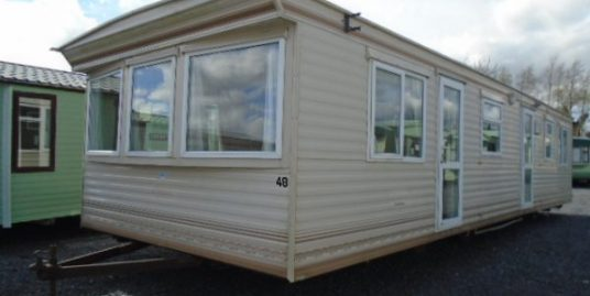 2003 cosalt devon deluxe 2 bedroom double glazed gas heating