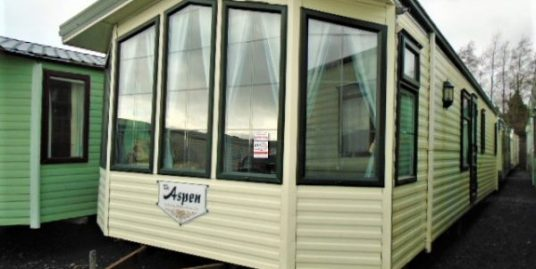 willerby apen  37×12 .double glazed central heating