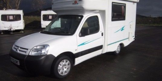 2003 NEW VENTURE SURF 2 BERTH MOTORHOME
