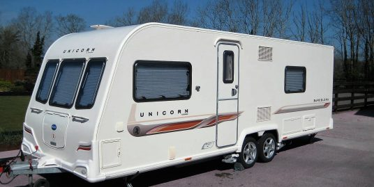 2012 BAILEY UNICORN BARCELONA TOURING CARAVAN