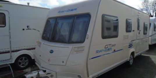 Bailey Ranger GT60 540-6 Triple Fixed Bunks, 6 Berth Touring Caravan 2009