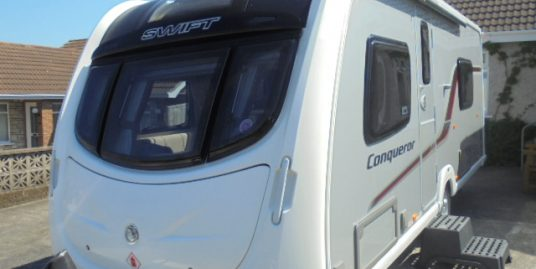 2013 Swift Conqueror 565 4 Berth Caravan For Sale