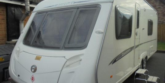 2008 Swift Charisma 620 4 Berth Caravan For Sale.Fixed Bed.Motormover