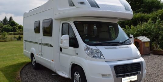 2009 Bessacarr E665 with rear fixed bed