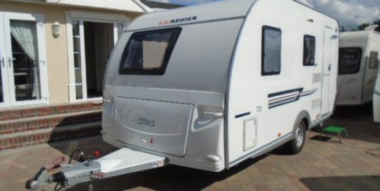 year 2013 adria tay 432 fixed bedroom motor mover lightweight caravan