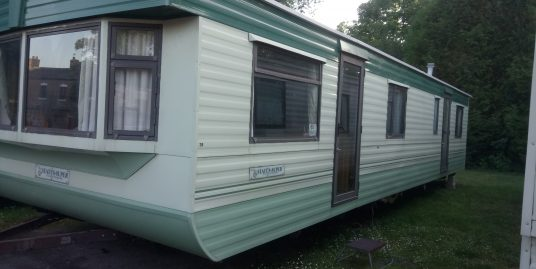 Atlas Super Status Two Bedroom 12 by 35 foot Budget static Caravan