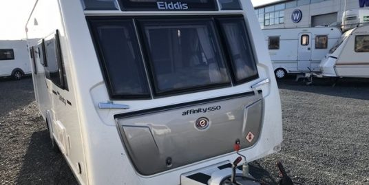 ** NEW IN ** 2016 Elddis Affinity 550 – Rear Fixed Island Bed. Stunning Caravan.