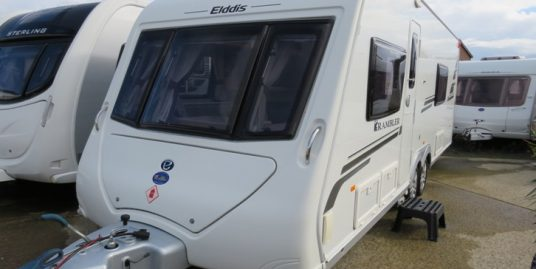 2012 ELDDIS RAMBLER 20/4SE 4-BERTH * FIXED BED * END WASHROOM & SEP SHOWER * TWIN AXLE * RC MOVER