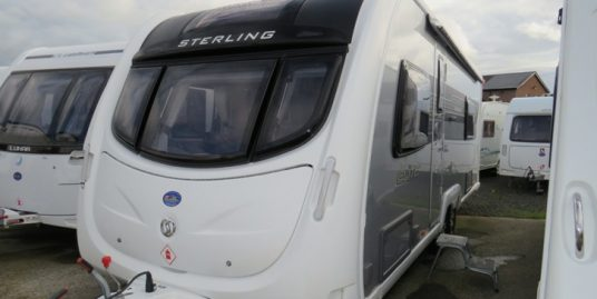 2012 STERLING ELITE SEARCHER 4-BERTH * FIXED BED * END WASHROOM & SEP SHOWER * TWIN AXLE * RC MOVER