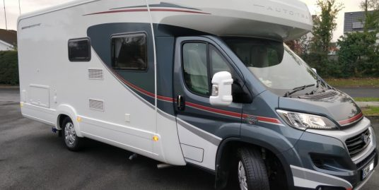 2015 Autotrail RHD Tracker RB 4 berth with Island bed